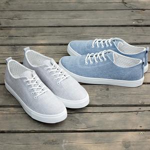 Breathable Linen Upper Casual Canvas Shoe  Shoes Stock For Men