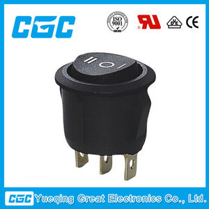 CGC KCD1-103-5 CE certificate round rocker switch