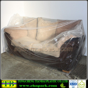 Cheap Disposable Plastic Dustproof Elastic Waterproof Couch Cover