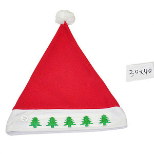 Child Christmas Decoration Supplies Beautiful LED Christmas Hat With Light Colorful Funy Christmas Hat Santa Claus