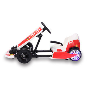 Children electric Pedal Go Kart Kids Ride on Toy Car 4 Wheel Racer Toy Clutch