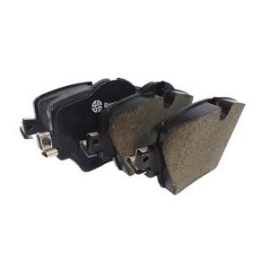 China factory carbon fiber ceramic hi q brake pad production without asbestos / non asbestos