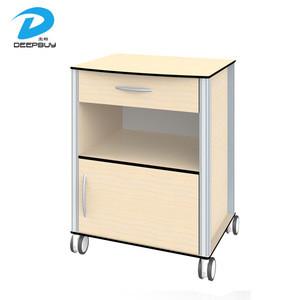 China Suppliers Hot Sale HPL Board Hospital Medical Bedside Tables