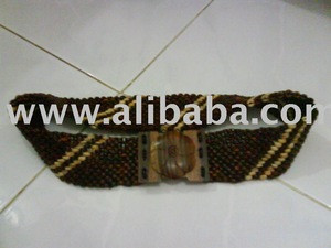 Coconut shell belts