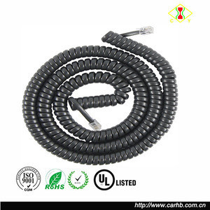 Connects Handset To Telephone Telephone Cord Extra Length For Home Or Office