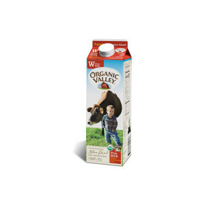 Factory Direct Ultra Pasturized Milk Whole Homo Pasteurized Milk Quart Organic Valley