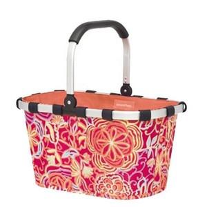 Fashion Design Shopping Baskets Supermarket 600D Polyester Folding Trolley Cart Shopping Baskets Bag