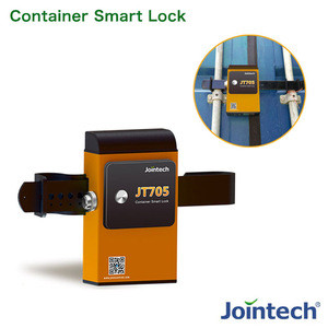 GPS security padlock with bluetooth unlock for container, trailer, truck, cargo monitoring solution