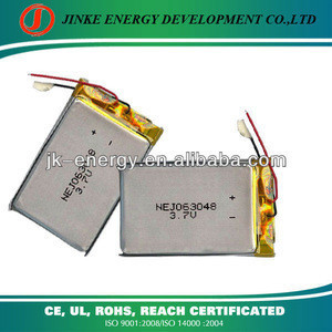 High quatily 063048 3.7V 880mAh Polymer Li-ion Rechargeable Battery for Mobile Phone