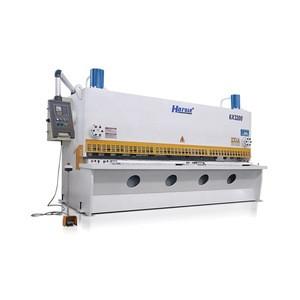 hydraulic sheet metal cutting machine With E21S guillotine used for sheet metal shearing machine QC11K 6x3200