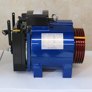 Innovative inner rotor elevator motor for residential elevator