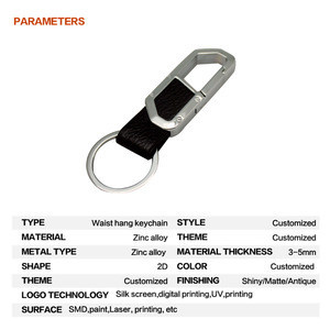Japanese Laser Cutting Metal Hook Accessories Country Souvenir Keychain For Key