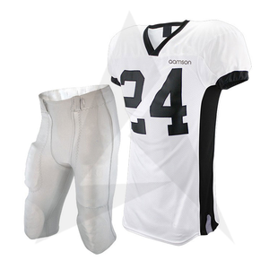 Low MOQ Football Jersey With Shorts For Youth Pakistan Made American Football Uniform