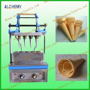 Machine for ice cream cone/sugar cones/waffle cone