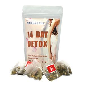 Natural Organic Slimming Tea 14 Days Detox Morning Tea for Weight Loss