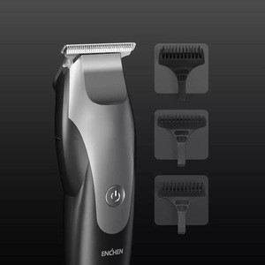 New Xiaomi Mijia ENCHEN Hummingbird USB Charging Electric Hair Clipper 10W 110-220V Hair Trimmer with 3 Hair Comb for Man