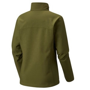 OEM Service Olive Softshell Jacket for Ladies with Hot Air Sealing Pocket Warmest Silk Lining Stretchable Fabric Sport Climbing