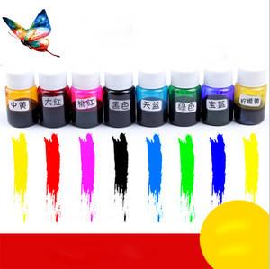 Pigment for epoxy resin pigment