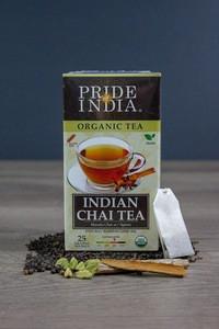 Pride Of India - Organic Indian Masala Spice Chai Tea- Bulk Pack (500 Tea Bags) - Blend of Assam Black Tea & 5 Vegan Mulling