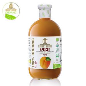 PURE APRICOT JUICE  100% ORGANIC COLD PRESSED PURE JUICE