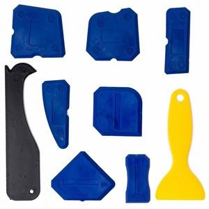 Silicon Sealant Tool Caulking Tool Kit Finishing Tool for Kitchen Bathroom Shower Blue Red 4/5/9 pcs sealant caulking tools