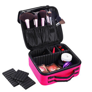 Wholesale Toiletry Bag nylon Cosmetic Case Women Cosmetic Bag Travel Waterproof Necessary Beauty Brush Organizer Makeup Bags