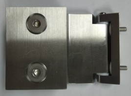 Precision cast stainless steel parts for machining hinges