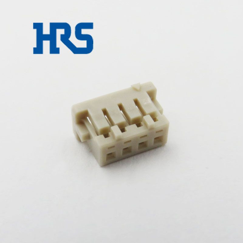 HRS DF13-4S-1.25C Single Row Socket 1.25mm Pitch