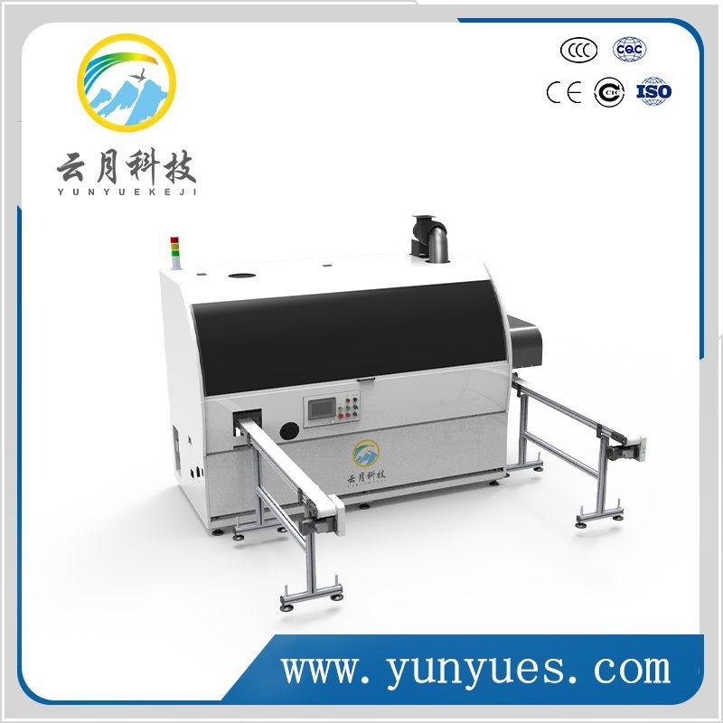 Automatic intelligent single color screen printing machine for plastic, glass bottle, bottle cap,