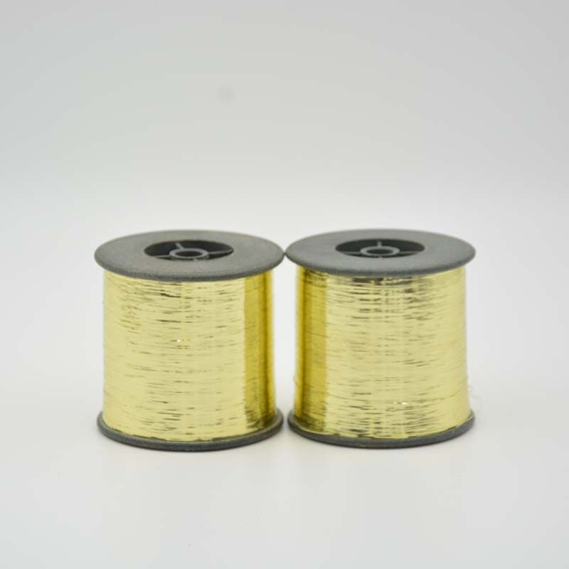 M Type Metallic Yarn Golden Color
