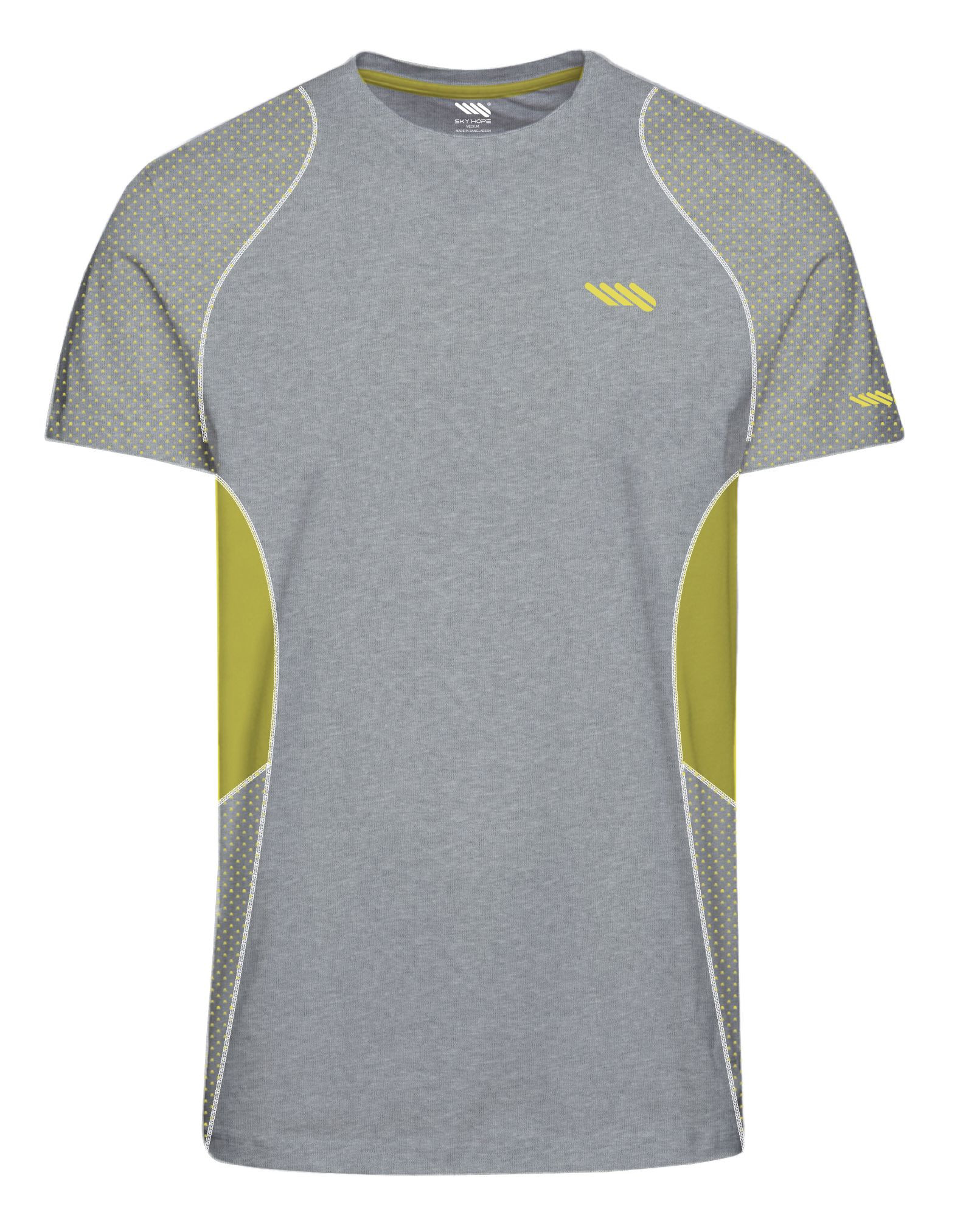 Men's Dry Fit Mesh Athletic Tee Shirts