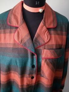 100% Cotton Flannel Ladies NightShirt OEM service for women pajamas