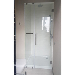 10mm bath screen partition shower rooms in bathroom frosted glass door