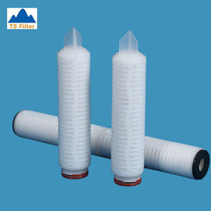 20 Inch 1 Micron Pleated Industrial Water Filter Cartridge