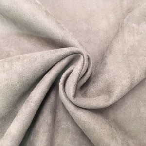 95% Polyester 5% Spandex Scuba Suede Knitting fabric with high quality 350GSM