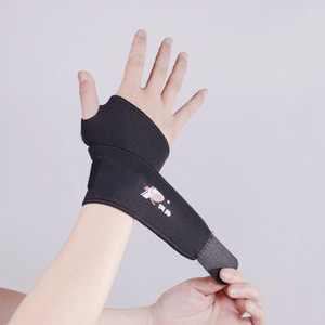 Adjustable Neoprene Wrist Support With Thumb Protector key sports elastic wrist band