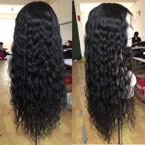 Alimina Sally beauty supply  human hair wigs, brazilian human hair hd full lace wig with baby hair,the hd human hair wig