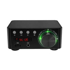 Bluetooth digital class D power amplifier hifi fever sound MP3 lossless player