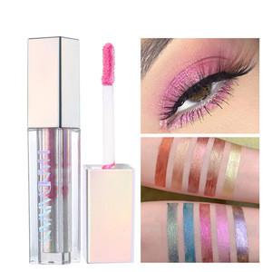 Color Sparkle Diamond Eyeshadow Wholesale Eyeshadow Long Lasting Metallic Glitter Liquid eyeshadow Private Label