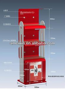 Custom Cosmetic Display Shelf