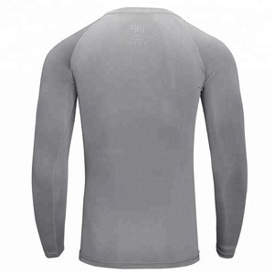 Custom design Tight Fit Long Sleeve compression shirts / Cheap Long sleeve Rash guard