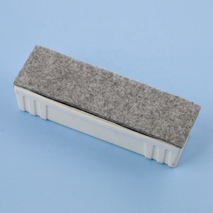 Eco-friendly Office & School Magnetic White Board Eraser with  Replaceable Felt