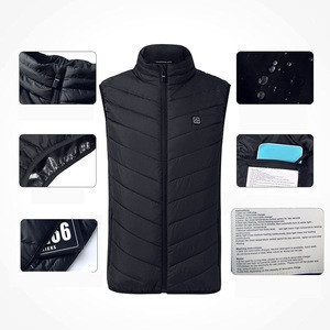 Electric motorcycle warmer heating pad vest for winter