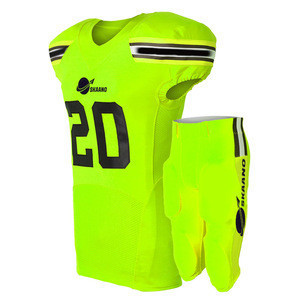 Factory price best nfl jersey american football high quality american football uniform design your own american football