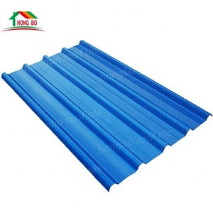 Guangzhou Eco-friendly Upvc roof tiles heat insulation 3 layers plastic pvc roofing sheet material
