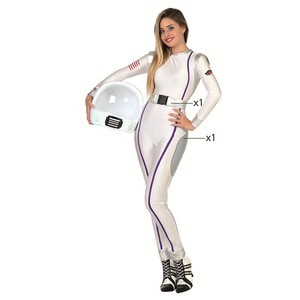 Halloween Party Uniform Carnival Career Dress Up Cosplay Costume Women Sexy Astronaut Costume