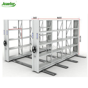 Jeanter Metal Furniture Hospital Archive Record Box Mobile File Rack