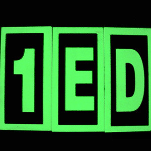 Luminous plastic house number ,door number