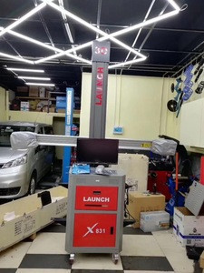 Newest Launch brand used 3D wheel alignment X-831S forever free update/wheel aligner