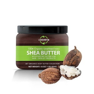 OEM Custom Cosmetic Best Selling Products for Men and Women100% Organic Unrefined Shea Butter for Skin and Hair